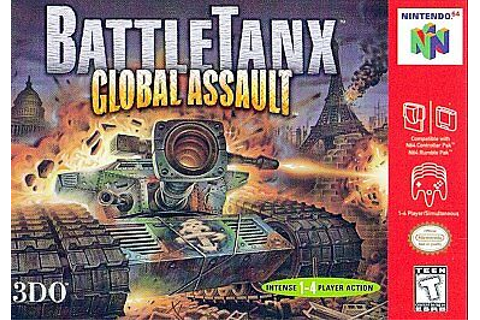 BattleTanx Global Assault Nintendo 64 1999 | eBay