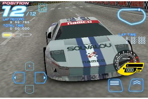 All Mobile Games : RIDGE RACER ACCELERATED ~ ALL-in-ONE
