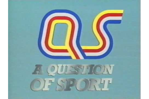Question of Sport Opening Titles 1989 - YouTube