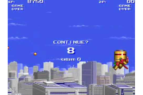 Game Over:Air Buster - YouTube
