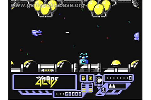 Zynaps - Commodore 64 - Games Database