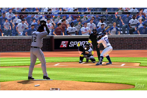 Major League Baseball 2K7 Xbox 360 Gameplay - Cubs - YouTube