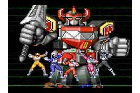 Mighty Morphin Power Rangers (SNES) Game Review - YouTube