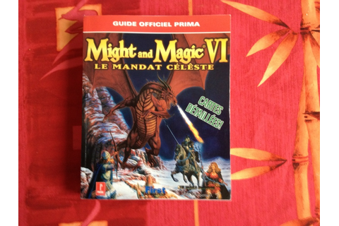 [estim] jeux game boy et guide might and magic vi