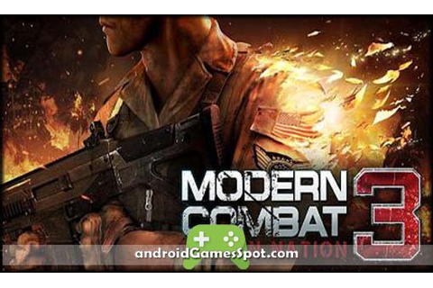 Modern Combat 3: Fallen Nation android game free download