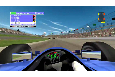 Indycar Series 2005 - Xbox - 10 Runden Indianapolis - YouTube