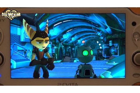 PS Vita - Ratchet and Clank Q Force - YouTube