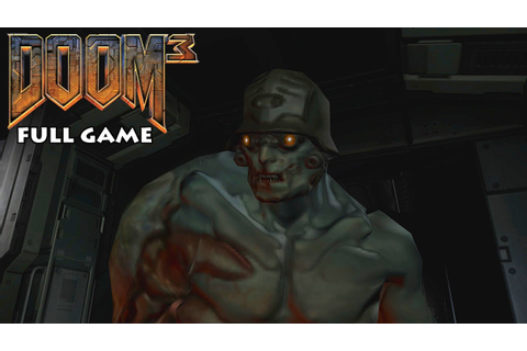 Doom 3 - Full Game Walkthrough - No Commentary - YouTube