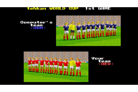 Tehkan World Cup (Arcade) (1 coin) Full game + comentarios ...