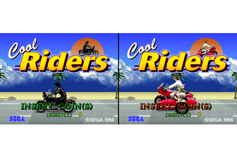 Cool Riders arcade video game by SEGA Enterprises, Ltd. (1994)