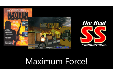 Maximum Force (Arcade) Gameplay - YouTube