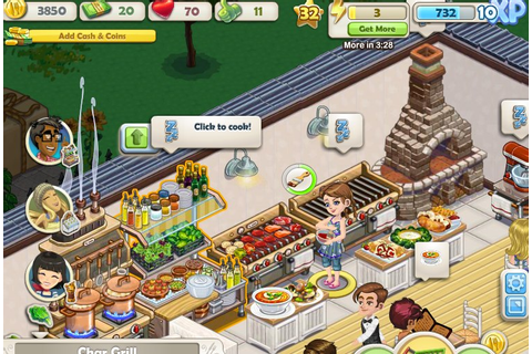 ChefVille: A complex but tasty treat on Facebook - AOL Games