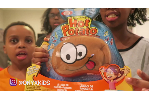 HOT POTATO GAME! - YouTube