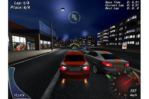 Night Street Racing Free Game Screenshot 3 - GameHitZone