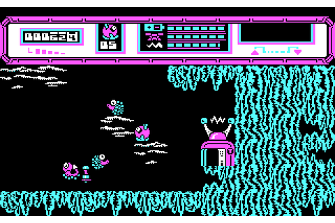Starquake (1988) by Bubble Bus MS-DOS game