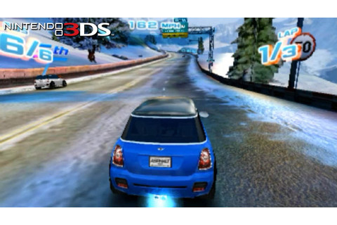 Asphalt 3D - Gameplay Nintendo 3DS Capture Card - YouTube