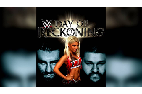 WWE Day Of Reckoning 3 Cover (Custom) - YouTube