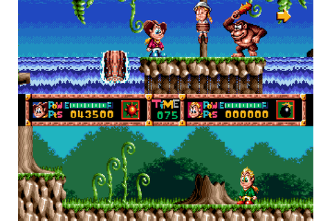 Dashin' Desperadoes (1993) by Data East for Mega Drive ...
