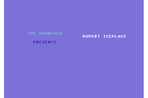 [CSDb] - Rupert and the Ice Castle by The Cruncher