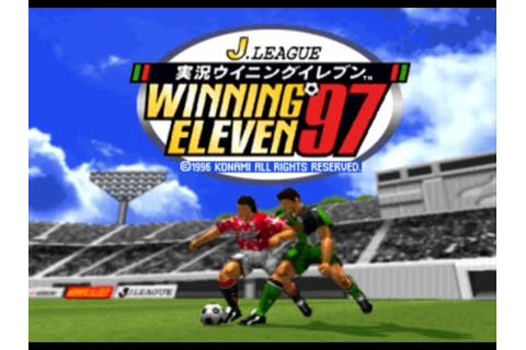 J League Jikkyou Winning Eleven '97 - YouTube