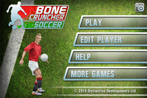 Bone Cruncher Soccer (by Distinctive) Coming tomorrow ...