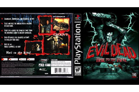[PS1] Evil Dead - Hail to the King Gameplay [ePSXe][1080p ...