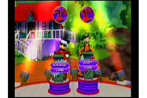 Disney Think Fast Wii 2 Player Friendly Match Part 1 - YouTube