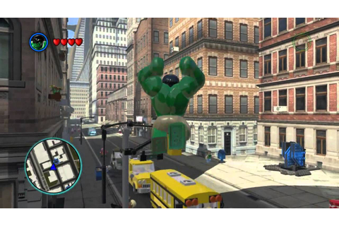 LEGO Marvel Super Heroes The Video Game - Hulk free roam ...