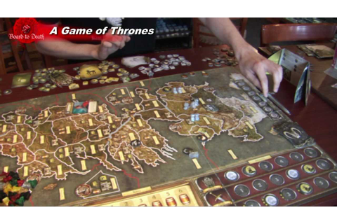 Game of Thrones Board Game Video Review - YouTube