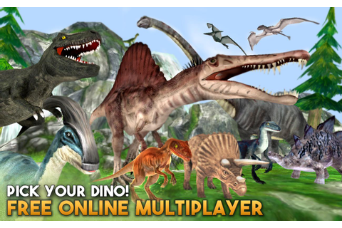 Dino World Online - Hunters 3D for Android - APK Download