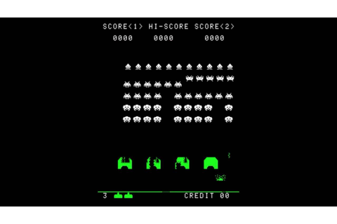 Space Invaders Startup Sequence - YouTube