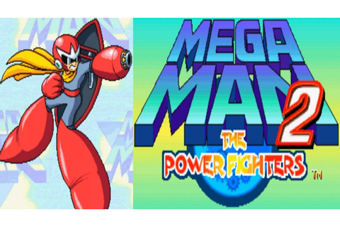 Mega Man 2 - The Power Fighters - Proto Man (Arcade) - YouTube