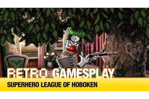 Retro GamesPlay – Superhero League of Hoboken - Games.cz
