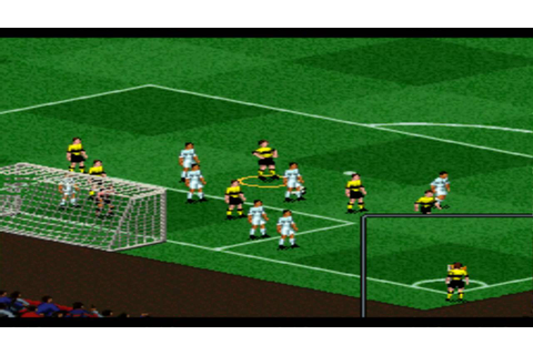 FIFA 97 SNES Gameplay HD - YouTube