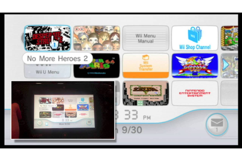How to Play Wii Games On Your Wii U Gamepad - YouTube