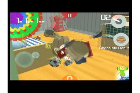 Katamari amore iPhone game play video - YouTube