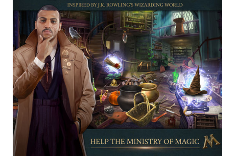Fantastic Beasts: Cases from the Wizarding World Game App