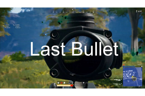PUBG PC Highlights||LAST BULLET GAME||BlackMamba Live ...