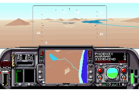 Download F-14 Tomcat vehicle simulation for DOS (1990 ...