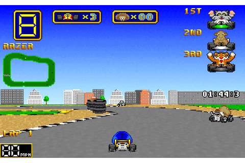 Play Wacky Wheels online - PlayDOSGames.com