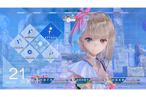Blue Reflection first gameplay video [Update] - Gematsu