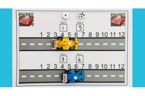 Racing track addition game: first number bonds | Learning ...