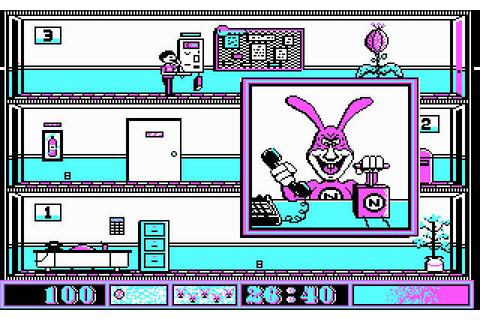 Download Avoid the Noid action for DOS (1989 ...