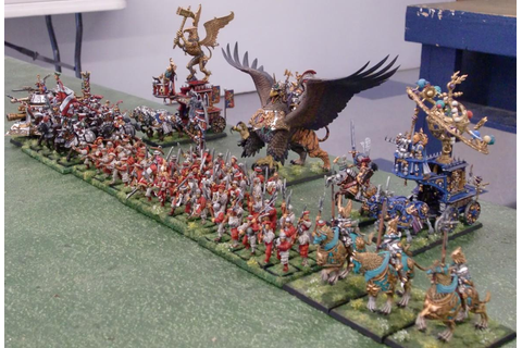WAB Corner: Warhammer Fantasy Battles - First Game Ever