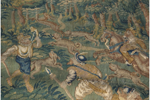 Baroque Game Park Tapestry at 1stdibs