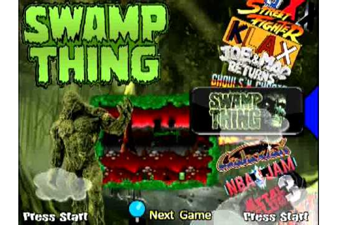 SWAMP THING TEMA v1 [Sega Genesis][Hyperspin] - YouTube