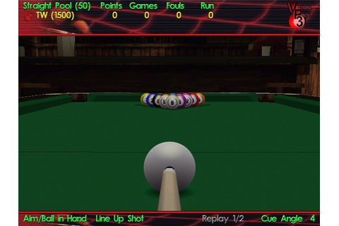 Virtual Pool 3 Free Full Game download free software ...