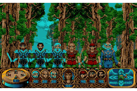 Download Crystals of Arborea rpg for DOS (1990 ...
