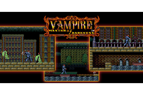 Vampire: Master of Darkness | SEGA Game Gear | Games ...