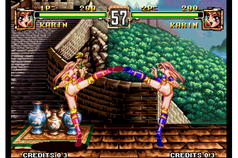 Voltage Fighter Gowcaizer (1995) by Technos Neo-Geo game